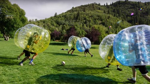 Bubble Fútbol Gijón