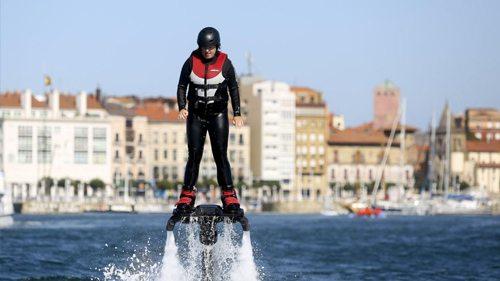 flyboard Gijón despedidas