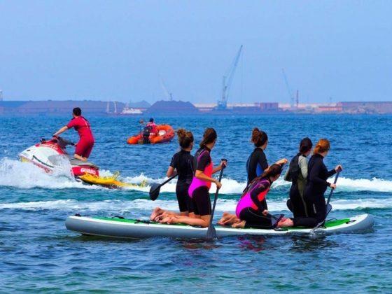 ruta de paddle surf en Gijón