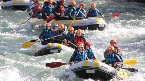 Rafting despedidas GIjón