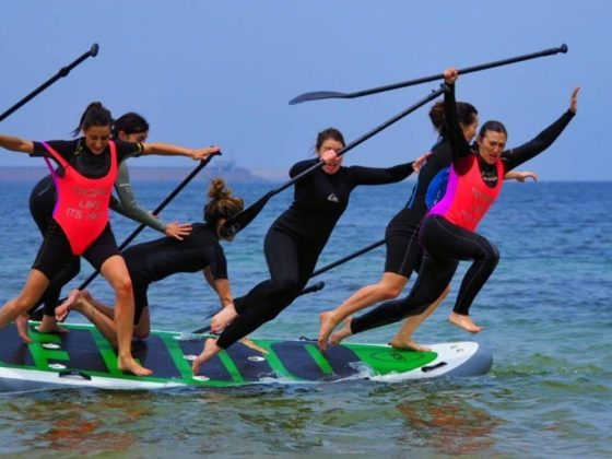 alquiler tabla de paddle surf gigante XXL