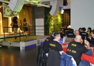 bailarinas espectáculo cena noches de pelicula Gijón Despedidas