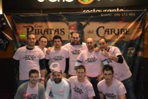 cena piratas del caribe Gijón despedidas
